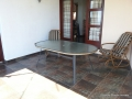 Patio at Seaward House self catering accommodation in Ramsgate