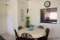 Dining area at Sue Casa self catering apartment accommodation in Manaba Beach, KZN South Coast