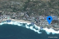 Satellite view of Sue Casa self catering apartment accommodation in Manaba Beach, KZN South Coast