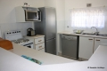 Kitchen at Laguna La Crete self catering accommodation in Uvongo, KZN South Coast