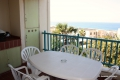 Balcony at Laguna La Crete self catering accommodation in Uvongo, KZN South Coast