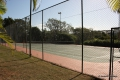 Tennis court at Laguna La Crete self catering accommodation in Uvongo, KZN South Coast