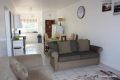Open plan living at Clover Bay self catering accommodation in St Micheals