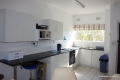 Fully equipped kitchen at Clover Bay self catering accommodation in St Micheals