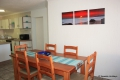 Dining area at Aldabra self catering apartment in St. Michael's