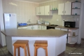 Kitchen at Aldabra self catering apartment in St. Michael's