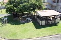 Communal braai area at Casa Uvongo self catering apartment accommodation in Uvongo