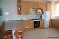 Kitchen at 207 Casa Uvongo self catering apartment accommodation in Uvongo