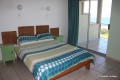 Main bedroom at 207 Casa Uvongo self catering apartment accommodation in Uvongo