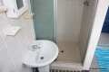 Main en-suite bathroom at 6 Rio self catering apartment in St. Michael's on the KZN South Coast