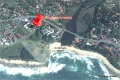 Satellite view of Rio self catering apartments in St. Michael's on the KZN South Coast