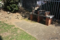 Communal braai area at Rio self catering apartment in St. Michael's on the KZN South Coast