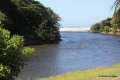 Lagoon view at Del Su Me self catering accommodation in Margate, KZN South Coast