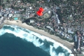 Satellite view of Del Su Me self catering accommodation in Margate, KZN South Coast