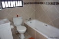 Main en-suite bathroom at Del Su Me self catering accommodation in Margate, KZN South Coast