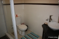 Second bathroom at Kubu Bali self catering apartment accommodation in Shelly Beach