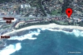 Satellite view of Kubu Bali self catering apartment accommodation in Shelly Beach
