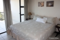 Main bedroom at Kubu Bali self catering apartment accommodation in Shelly Beach