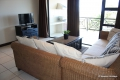 Lounge at Kubu Bali self catering apartment accommodation in Shelly Beach