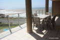 Balcony at Dolphin View self catering apartment accommodation in Margate on the KZN South Coast