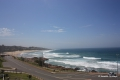 Sea view from Dolphin View self catering apartment accommodation in Margate on the KZN South Coast