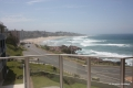 Lounge view from Dolphin View self catering apartment accommodation in Margate on the KZN South Coast