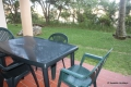 Patio at 123 Laguna La Crete self catering apartment accommodation in Uvongo on the KZN South Coast
