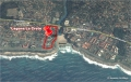 Satellite view of Laguna La Crete self catering apartment accommodation in Uvongo on the KZN South Coast