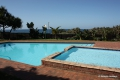 Swimming pool at Laguna La Crete self catering apartment accommodation in Uvongo on the KZN South Coast