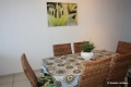 Dining area at 8 Mahe self catering apartment in Margate on the KZN South Coast