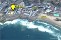 Satellite view of Mahe self catering apartments in Margate on the KZN South Coast