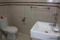Main en-suite bathroom at 8 Mahe self catering apartment in Margate on the KZN South Coast