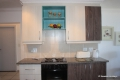 Kitchen at 8 Mahe self catering apartment in Margate on the KZN South Coast