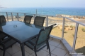 Balcony at 8 Mahe self catering apartment in Margate on the KZN South Coast