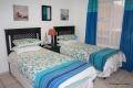 Third bedroom at 8 Mahe self catering apartment in Margate on the KZN South Coast