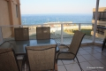 Balcony at 10 Mahe self catering apartments in Margate on the KZN South Coast