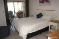 Main bedroom at 10 Mahe self catering apartments in Margate on the KZN South Coast