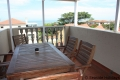 Main Balcony at 11 Stafford Place self catering accommodation in Uvongo on the KZN South Coast