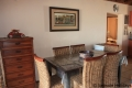 Dining Area at 11 Stafford Place self catering accommodation in Uvongo on the KZN South Coast