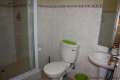Second bathroom at 5 Kuta Beach self catering accommodation in Ramsgate on the KZN South Coast