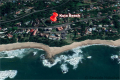 Satellite view of Kuta Beach self catering accommodation in Ramsgate on the KZN South Coast