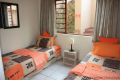 Fourth bedroom at 5 Kuta Beach self catering accommodation in Ramsgate on the KZN South Coast