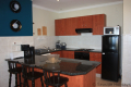 Kitchen at 5 Kuta Beach self catering accommodation in Ramsgate on the KZN South Coast