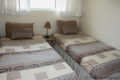 Third bedroom at Strandloper self catering accommodation in Uvongo on the KZN South Coast.