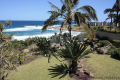View from Strandloper self catering accommodation in Uvongo on the KZN South Coast.