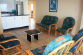 Lounge at Strandloper self catering accommodation in Uvongo on the KZN South Coast.
