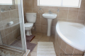 Second bathroom at Strandloper self catering accommodation in Uvongo on the KZN South Coast.