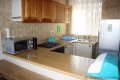 Kitchen at Ibiza self catering holiday apartment in Margate on the KZN South Coast
