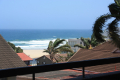 View from Ibiza self catering holiday apartment in Margate on the KZN South Coast
