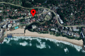 Satellite view of Ibiza self catering holiday apartment in Margate on the KZN South Coast